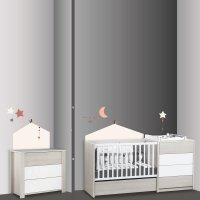 Stickers chambre bébé home timouki
