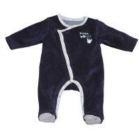Pyjama velours mister bouh bleu marine