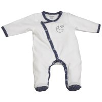Pyjama velours merlin blanc