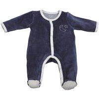 Pyjama velours merlin bleu