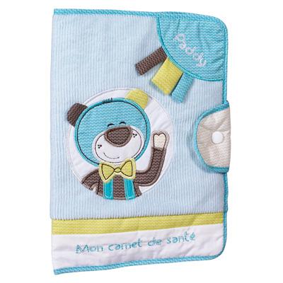 Protège carnet de santé paddy Sauthon baby deco