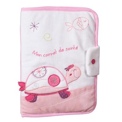 Protège carnet de santé tess Sauthon baby deco