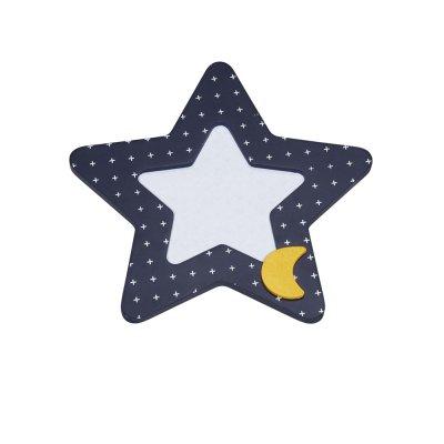 Cadre photo étoile hello Sauthon baby deco