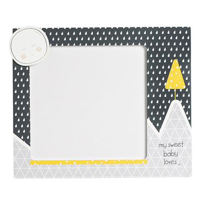 Set de 2 cadres photos babyfan Sauthon baby deco