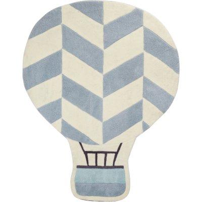 Tapis de chambre bébé 100x130cm montgolfière lazare Sauthon baby deco
