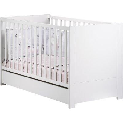 Tiroir pour lit little big bed 70x140cm loft blanc Sauthon meubles