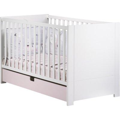 Tiroir pour lit little big bed 70x140cm rose city girl Sauthon meubles