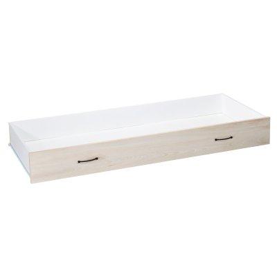 Tiroir pour lit little big bed 140x70cm vintage hêtre cendré Sauthon meubles