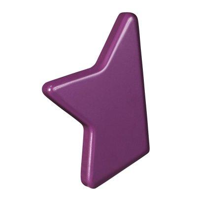 Jeu de bouton étoile violet nova Sauthon meubles
