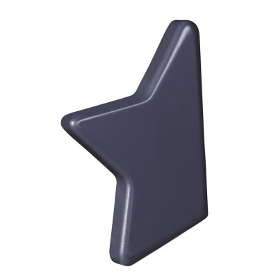 Jeu de bouton étoile gris titane nova Sauthon meubles