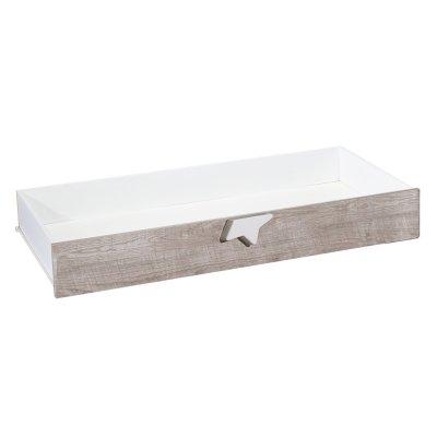 Tiroir pour lit non transformable120x60 nova Sauthon meubles