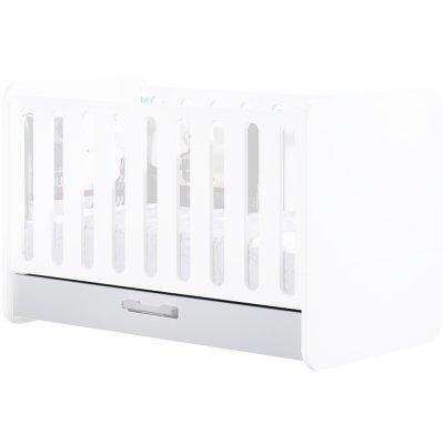 Tiroir pour little big bed 140x70 astride blanc Sauthon meubles
