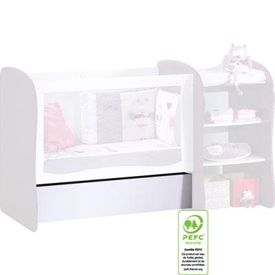 tiroir lit chambre transformable pop 30 sur allob b. Black Bedroom Furniture Sets. Home Design Ideas