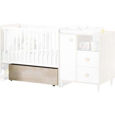 Tiroir pour lit chambre transformable 60x120 nils Sauthon meubles