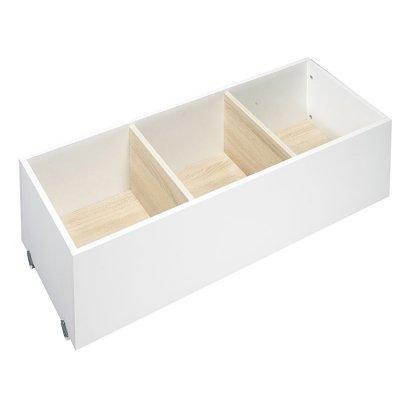 Tiroir pour lit chambre transformable 60x120 oslo Sauthon meubles