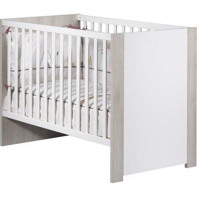 Lit bébé 60x120cm tipee Sauthon meubles