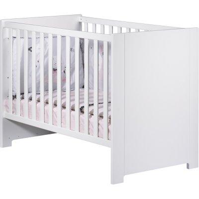 Lit bébé 60x120 city blanc Sauthon meubles