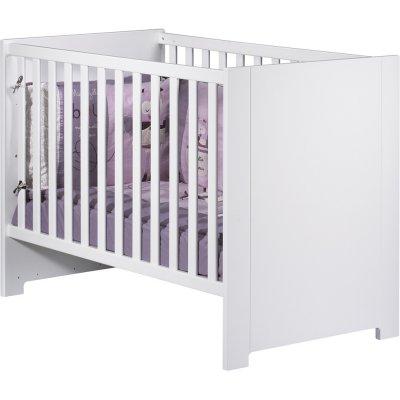 Lit bébé 60x120cm loft blanc Sauthon meubles