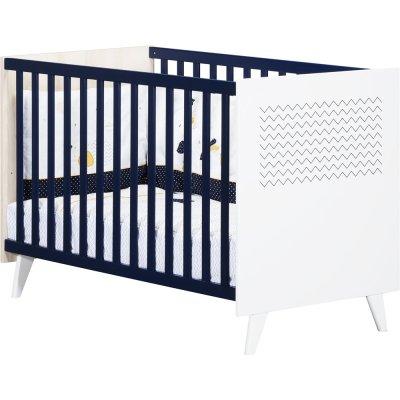 Lit bébé 120x60cm hello Sauthon meubles