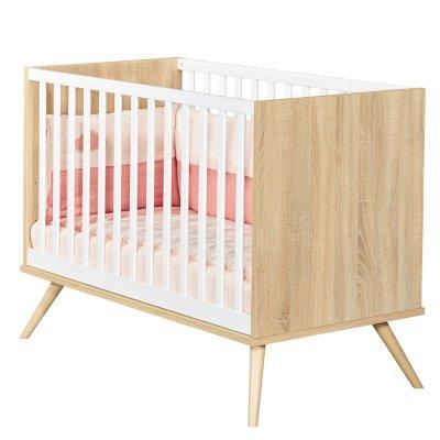 Lit bébé 60x120cm seventies Sauthon meubles