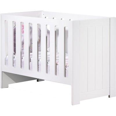 Lit bébé 60x120 non transformable deauville Sauthon meubles
