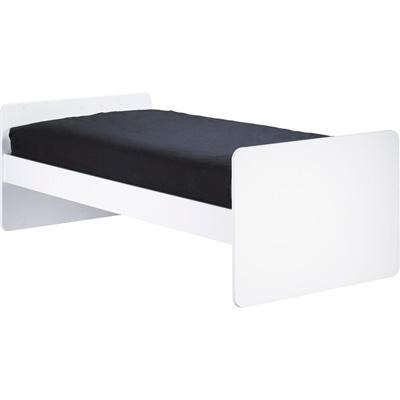 Lit bébé 60x120cm transformable en 90x200cm astride blanc Sauthon meubles