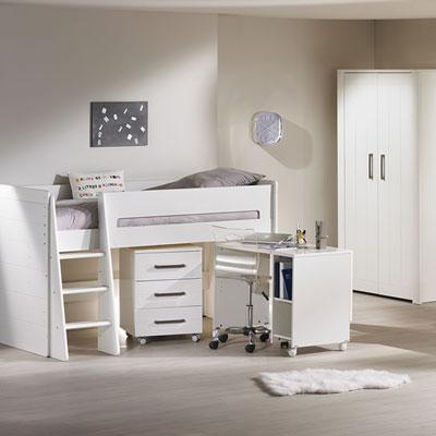 Lit chambre transformable 70x140cm deauville Sauthon meubles