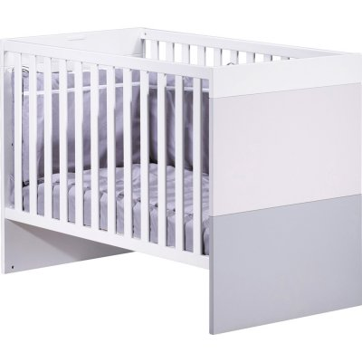Lit bébé 60x120cm transformable en lit 90x200cm city Sauthon meubles