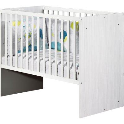 Lit bébé 60x120 transformable nino Sauthon meubles