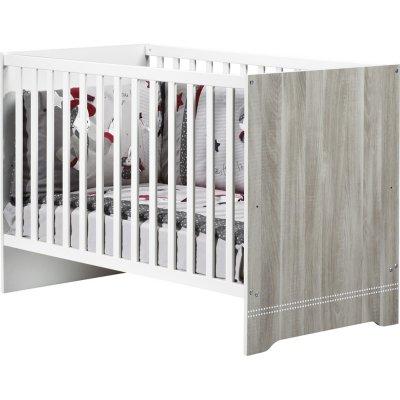 Lit bébé 60x120cm loulou Sauthon meubles