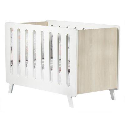 Lit bébé non transformable 60x120cm elfy Sauthon meubles