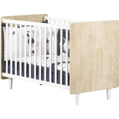 Lit bébé 60x120cm non transformable nils Sauthon meubles
