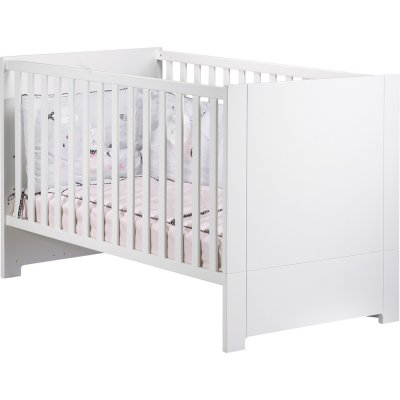 Lit little big bed 70x140cm city blanc Sauthon meubles