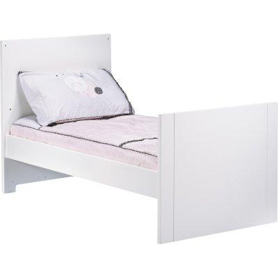 Lit little big bed 70x140cm blanc city girl Sauthon meubles