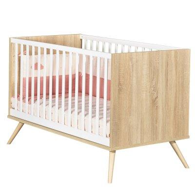 Lit little big bed 70x140cm seventies Sauthon meubles