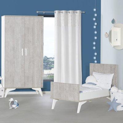 Lit little big bed 70x140cm neo Sauthon meubles