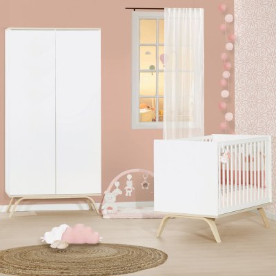 Lit little big bed 70x140cm serena Sauthon meubles