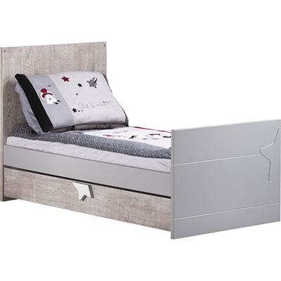 Lit little big bed 70x140cm nova Sauthon meubles