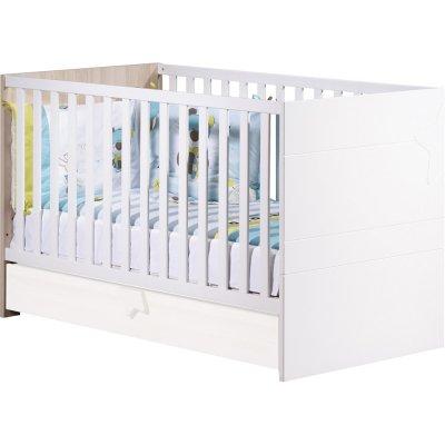 Lit little big bed 70x140cm norway Sauthon meubles