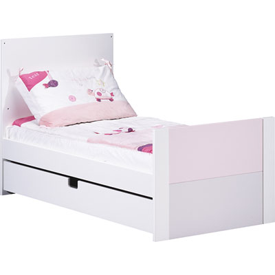 Lit little big bed 70x140cm city rose Sauthon meubles