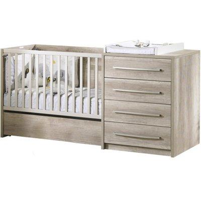 lit chambre transformable 60x120 en lit junior 90x190 emmy sauthon meubles - Lit Sauthon