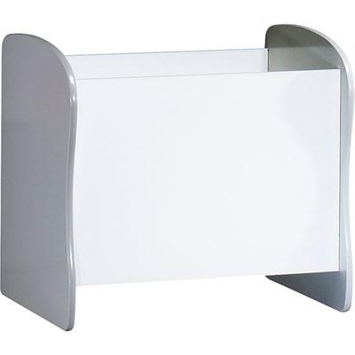 Meuble de rangement évolutif coffre/bibliothèque pop argile Sauthon meubles