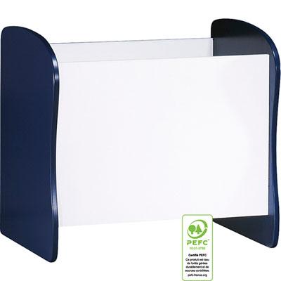 Meuble de rangement évolutif coffre/bibliothèque pop indigo Sauthon meubles