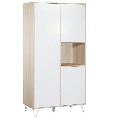 Chambre bébé trio lit 60x120cm + commode + armoire happy Sauthon meubles