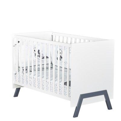 Chambre bébé duo lit 60x120cm + commode graphic Sauthon meubles