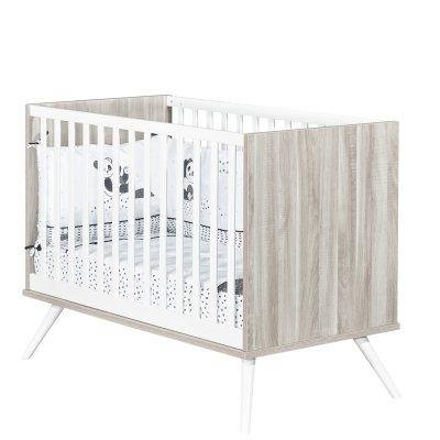 Chambre bébé duo lit 60x120cm + commode cosy Sauthon meubles