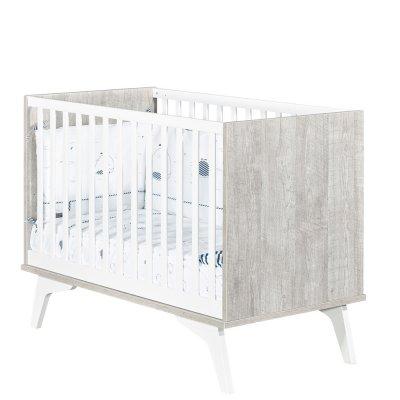 Chambre bébé trio lit 60x120cm + commode + armoire neo Sauthon meubles