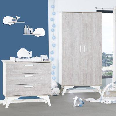 Commode 3 tiroirs neo Sauthon meubles