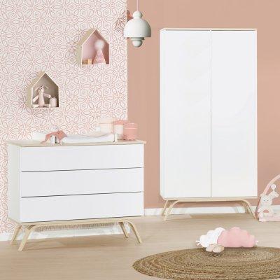 Commode 3 tiroirs serena Sauthon meubles
