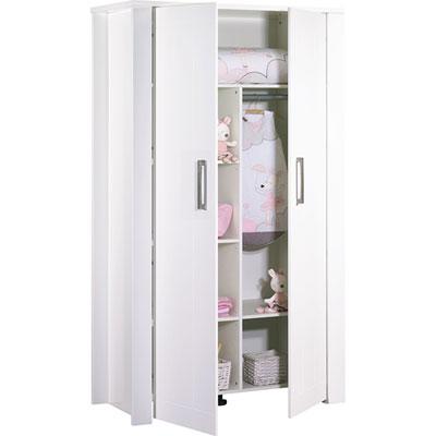 Armoire chambre bébé 2 portes deauville Sauthon meubles